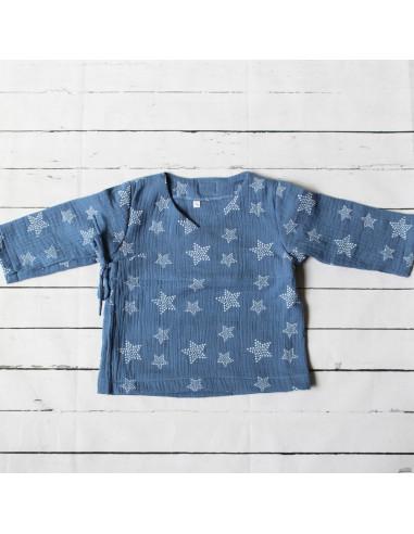 Wickeloberteil Stars I Sommer-Tragekleidung für dein Baby