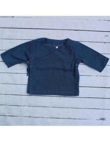 Wickeloberteil Blue I Sommer-Tragekleidung für dein Baby