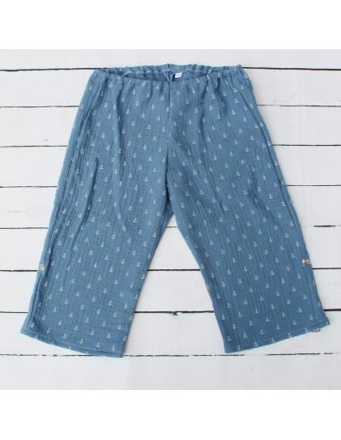 Hose für Tragebabys Blue Anchors I Sommer-Tragekleidung für dein Baby