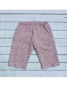Hose für Tragebabys Birds Pink I Sommer-Tragekleidung für dein Baby