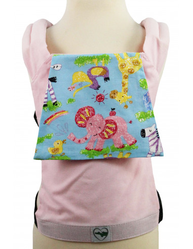 Buzzidil für Plaudertaschen Pink Zoo | Puppentrage