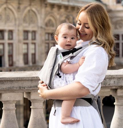 BuzziBu Onbuhimo Babytrage | baby carrier | porte-bébé | portabebè | portabebé