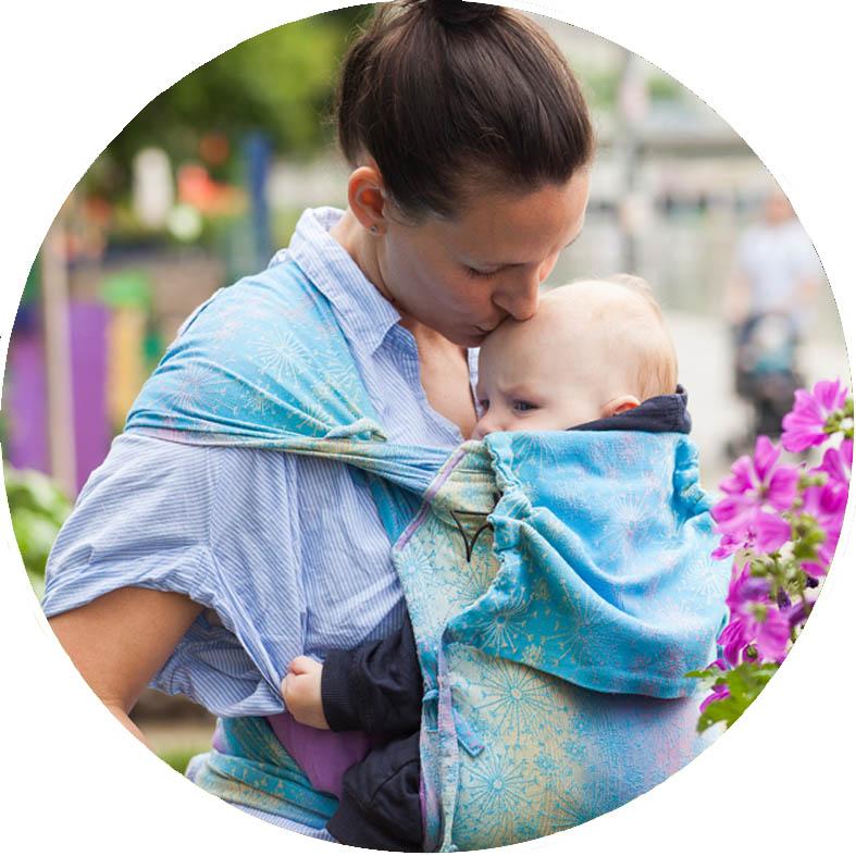 Wrapidil - le Mei Tai croissant du naissance à 4 ans