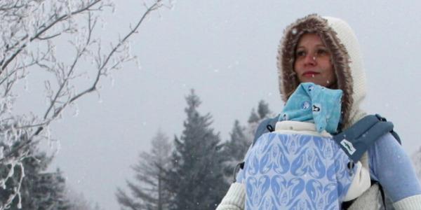 Tragen im Winter: Was ziehe ich meinem Baby an?